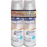 Gel de ras Gillette Mach3 Irritation Defense 2*200ml 25% reducere