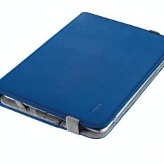 Husa tableta Trust 19705 Verso Universal Folio Stand albastra pentru 7 - 8 inch