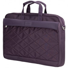 Geanta laptop Sumdex Passage 15.6 inch Purple, Nailon, Mov