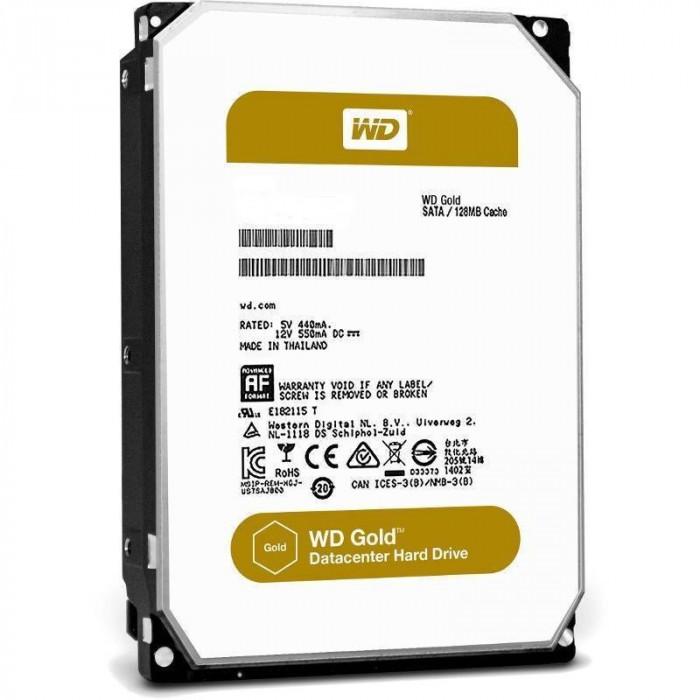 Hard disk server WD Non Hot-Plug Gold 2TB SATA-III 3.5 inch 7200rpm 128MB foto mare