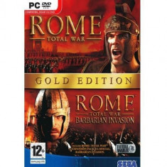 Joc PC Sega Rome: Total War Gold Edition - Jocuri PC Sega, Strategie, 12+, Multiplayer