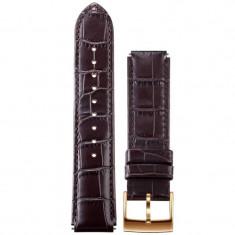 Curea SmartWatch Huawei Watch W1 Brown Leather Strap