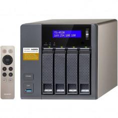 NAS Qnap TS-453A-4G Intel Quad-Core N3150 1.6GHz 4 Bay 4 x LAN 4 x USB