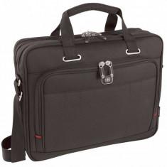 Geanta laptop Wenger Acquisition 16 inch Black, Poliester, Negru