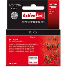 Consumabil ActiveJet Cartus compatibil PGI-520 Black Canon