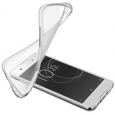 Husa Protectie Spate Cellularline SOFTXPRXA1T Soft Transparent pentru SONY Xperia XA1 - Husa Telefon