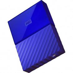 Hard disk extern WD My Passport New 3TB 2.5 inch USB 3.0 Blue - HDD extern Western Digital