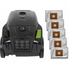 Pachet aspirator Zass ZVC 11 cu 5 saci negru - Aspirator cu sac Zass, 1400 W