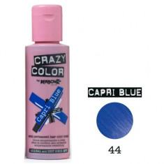 Vopsea de par semi-permanenta Profesionala CRAZY COLORS 002234-1 Albastru Intens