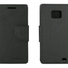 Husa Flip Cover Goospery YFSAMGS2NG My-Fancy neagra pentru Samsung Galaxy S2 I9100 - Husa Telefon