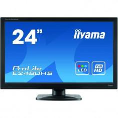 Monitor LED Iiyama ProLite E2480HS-B2 23.6 inch 2ms Black