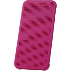 Husa Flip Cover HTC HC M231 Dot View roz pentru HTC One M9