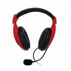 Casti Vakoss SK-601KR Red, Casti On Ear