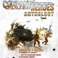 Joc PC THQ Company of Heroes Anthology - Jocuri PC Thq, Strategie, 12+, Multiplayer
