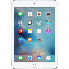 Tableta Apple iPad Mini 4 64GB WiFi 4G Silver, Argintiu
