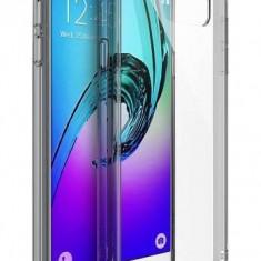 Husa Protectie Spate Ringke Fusion Smoke Black plus folie protectie pentru Samsung Galaxy A3 2016 - Husa Telefon