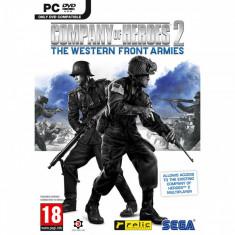 Joc PC Sega Company of Heroes 2 The Western Front Armies - Jocuri PC Sega, Strategie, 18+, Single player