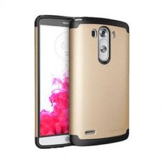 Husa Protectie Spate Ringke Armor Max Royal Gold plus folie protectie pentru LG G3 - Husa Telefon
