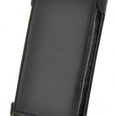 Husa Flip Cover Blautel KLLG5N 4-OK Klap neagra pentru LG P610 Optimus L5