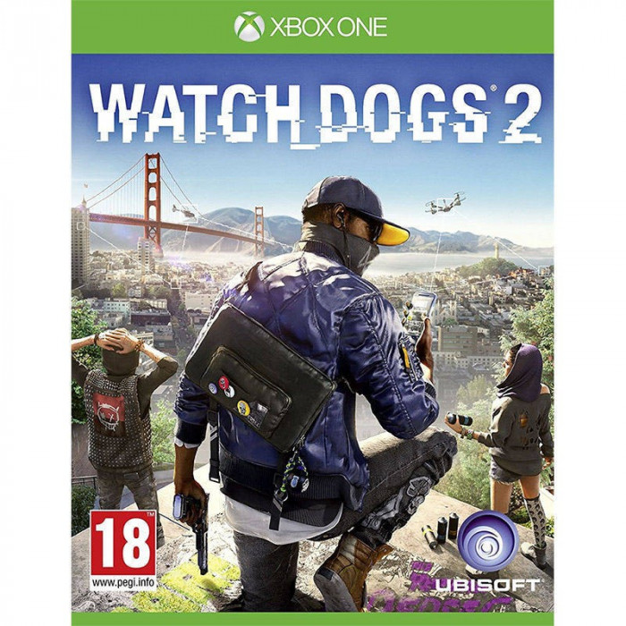 Joc consola Ubisoft Ltd Watch Dogs 2 Xbox ONE foto mare