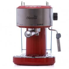 Espressor cafea Samus OBSESSION RED 850W, Manual, 15 bar