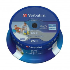 Mediu optic Verbatim BD-R SL Datalife 6X 25GB 25 bucati - CD Blank