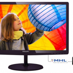 Monitor Philips 247E6LDAD/00 23.6 inch TN Speakers Negru - Monitor LED Philips, 23 inch