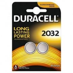 Baterie Duracell specialitati lithiu 2*2032 Argintiu - Baterie Aparat foto