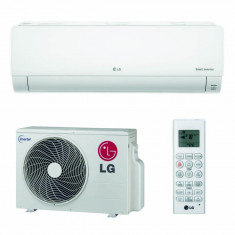 Aparat aer conditionat LG Deluxe Smart Inverter D09RN 9000 Btu/h Alb, Standard