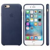 Husa Protectie Spate Apple Leather Case Albastru Midnigh pentru iPhone 6s plus - Husa Telefon
