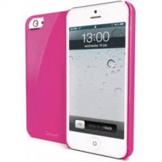 Husa Protectie Spate Muvit MUBKC0604 Glossy Roz pentru APPLE iPhone 5s, iPhone SE - Husa Telefon