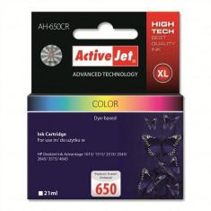 Consumabil ActiveJet Cartus compatibil color AC-HP 650 pentru HP CZ102AE