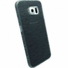 Husa Protectie Spate Krusell 90095 Frost Negru pentru SAMSUNG Galaxy S6 - Husa Telefon Krusell, Plastic, Carcasa
