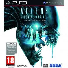 Joc consola Sega Aliens Colonial Marines Editie Limitata PS3 - Jocuri PS3 Sega, Shooting, 18+