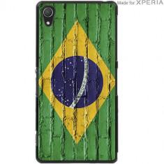 Husa Protectie Spate Muvit SEPRBKCZ21004 MFX Brazilia pentru Sony Xperia Z2 - Husa Telefon