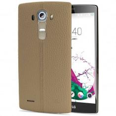 Husa Protectie Spate LG CPR-110 bej pentru LG G4 - Husa Telefon LG, Piele, Carcasa