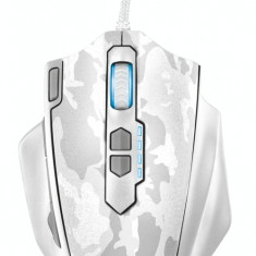 Mouse gaming Trust GXT 155W White Camouflage, USB, Optica