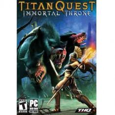 Joc PC THQ PC Titan Quest: Immortal Throne - Jocuri PC