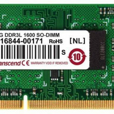 Memorie laptop Transcend 4GB DDR3 1600 MHz CL11 - Memorie RAM laptop