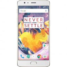 Smartphone OnePlus 3T A3003 64GB Dual Sim 4G Gold - Telefon OnePlus