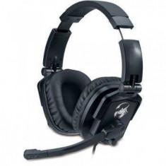 Casti Genius Over-Head HS-G550V Lychas GX-Series Black - Casca PC