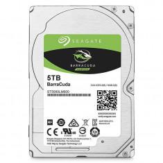Hard disk laptop Seagate Barracuda Guardian 5TB SATA-III 5400rpm 128MB - HDD laptop Seagate, Peste 1 TB, SATA 3