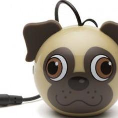 Boxa portabila KitSound Trendz Mini Buddy Pug 2 W