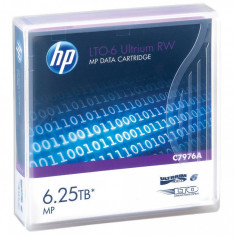 Consumabil HP Caseta de date LTO-6 Ultrium 6.25TB MP RW