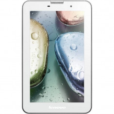 Tableta Lenovo Ideatab A3000 7 inch IPS Cortex A7 1.2 GHz Quad-Core 1 GB RAM 16 GB flash Wi-Fi 3G Android 4.1 White