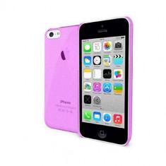 Husa Protectie Spate Celly CRYSTAL360P Crystal roz pentru Apple iPhone 5C - Husa Telefon Celly, Plastic, Carcasa
