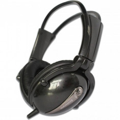 Casti Lenovo P723N BLACK, Casti Over Ear, Cu fir, Mufa 3, 5mm