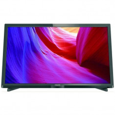 Televizor Philips LED 24PHH4000 HD Ready 60cm Black - Televizor LED Philips, Smart TV