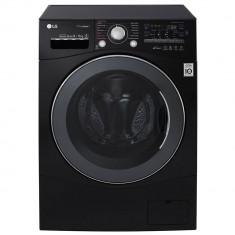 Masina de spalat rufe cu uscator LG FH4A8FDH8N A 1400 rpm spalare 9kg uscare 6kg neagra