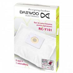 Set Daewoo 5 saci de aspirator + 1 microfiltru RC-Y101 - Saci Aspiratoare
